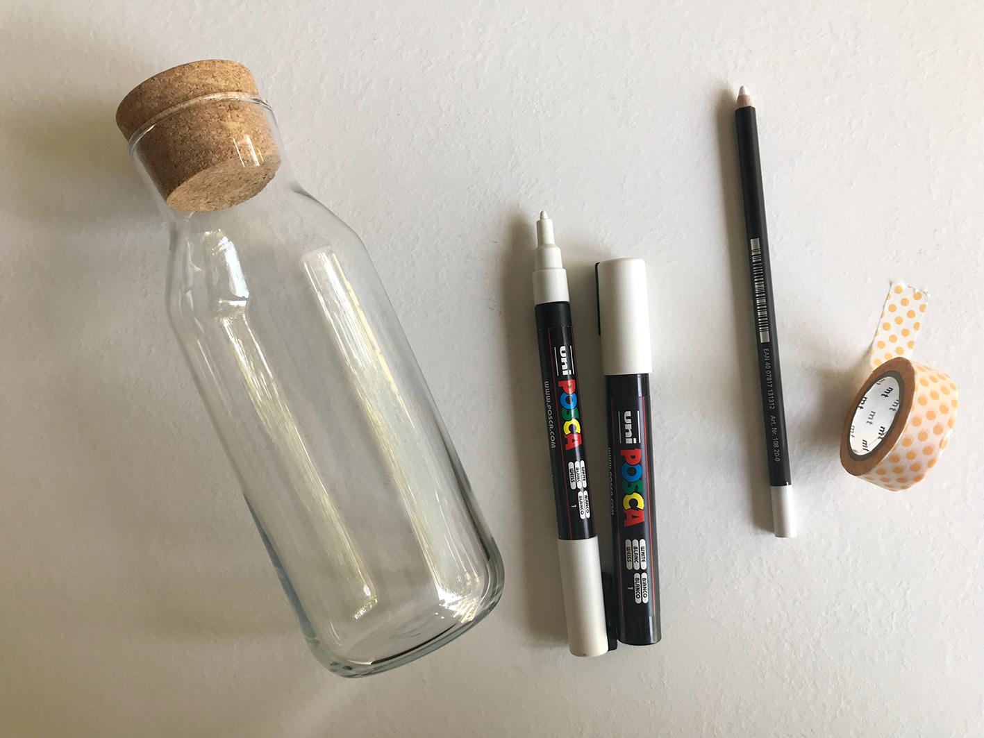 Materiali per fare lettering su vetro