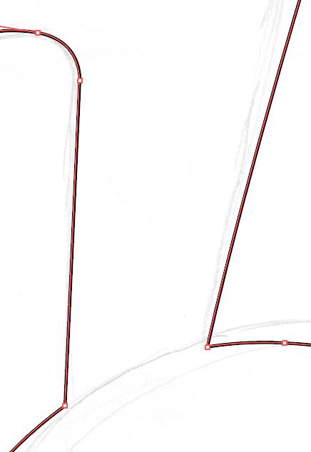 Tracciato vettoriale in Illustrator