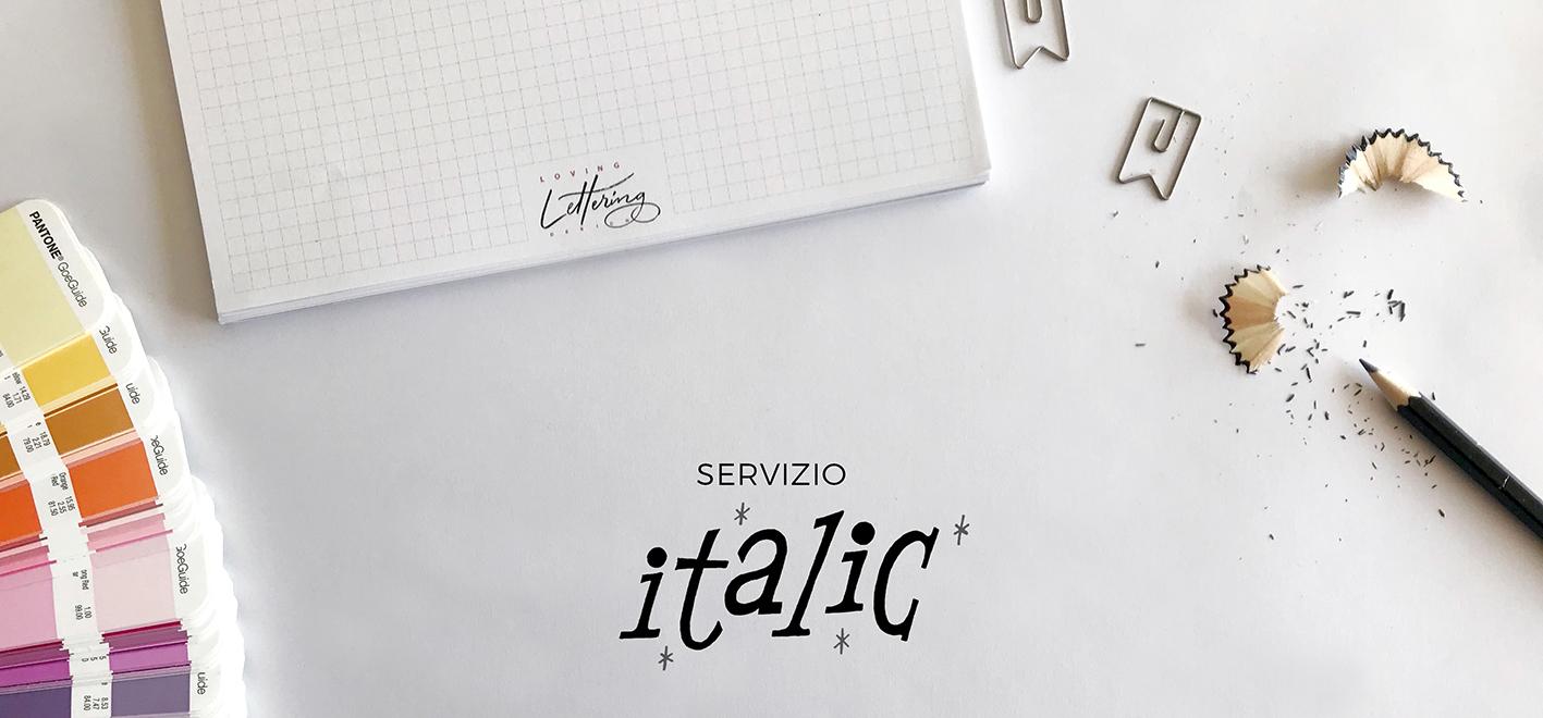 servizio italic
