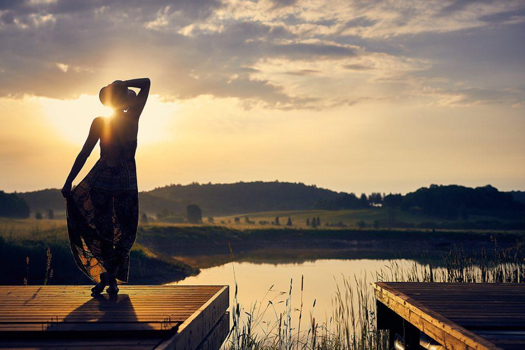 Guardare all'orizzonte e lasciarsi ispirare
