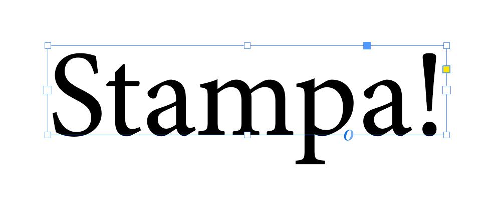 Esempio di font