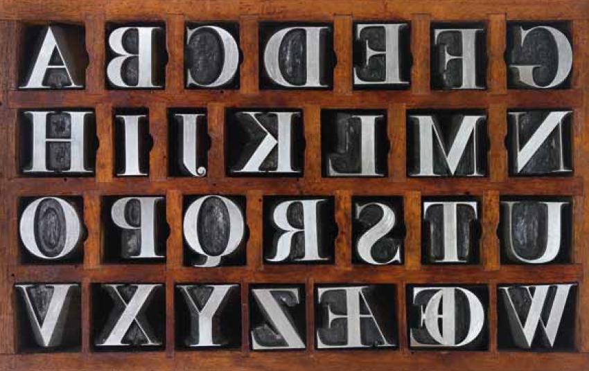 punzoni tipografici Bodoni