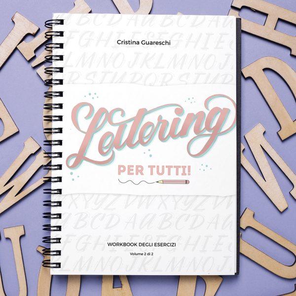 Workbook lettering per fare gli esercizi