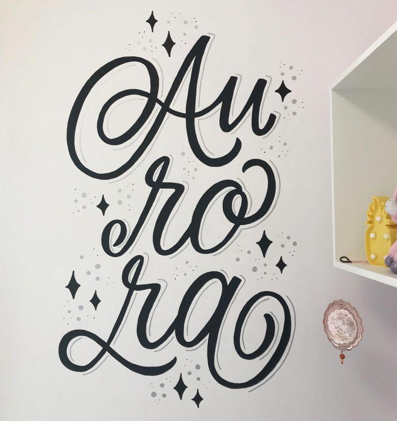 Murales del nome Aurora